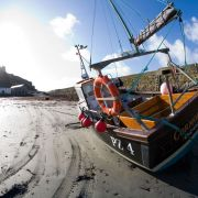 Fishing Boat - St Michael's Mount Harbour