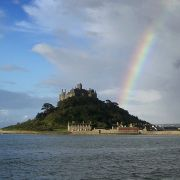 St Michael's Mount Rainbow