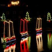 3 Ships Christmas Lights - Mousehole