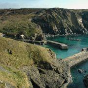 Mullion Harbour and Cliffs