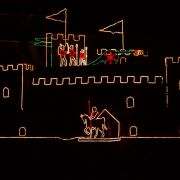 Newlyn Christmas Lights - Castle