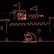 Newlyn Christmas Lights - Castle