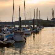 Newlyn Harbour - Calm before the storm