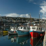 Newlyn Harbour Boats
