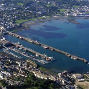 Newyln Harbour - Aerial View