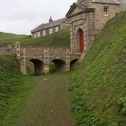 Pendennis Castle Moat and Entrance