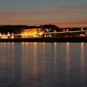 Penzance Sea Front at Night