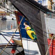 Ship's Figurehead - Penzance Harbour