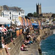 Busy Day on Penzance Prom