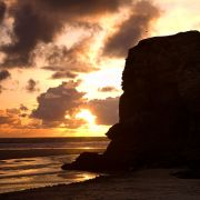 Chapel Rock Sunset - Perranporth