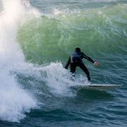 Polzeath Surfer