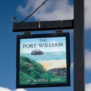 Port William pub sign