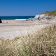 Porth Joke through the dunes