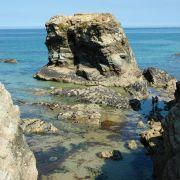 Rock Island near Porth Beach