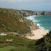 Porthcurno Beach to Treen Cliffs