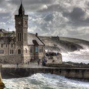 Porthleven October Storm