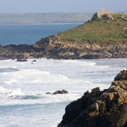 Man's Head and the Island - St ives