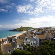 Porthmeor Rooftop View