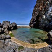 Tidal pool - Porthtowan beach