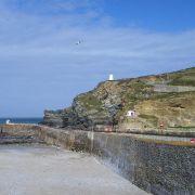 Portreath Harbour Wall