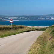 The road down to Godrevy