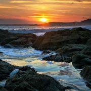 Rockpool Sunset