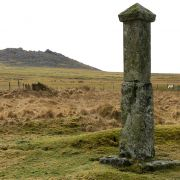 Charlotte Dymond Memorial and Roughtor