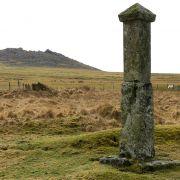 Charlotte Dymond Memorial and Roughtor