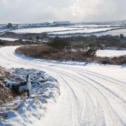 Snow in West Cornwall