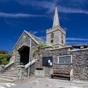 St Keverne parish church