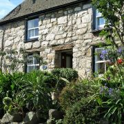 Cottage and garden on St Mary's, Scilly