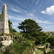 Churchyard - St Mary's Old Church, Scilly