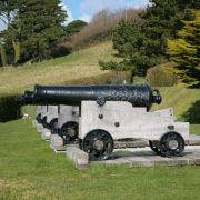 St Mawes Cannons