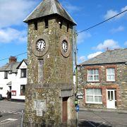 St Teath Clock Tower