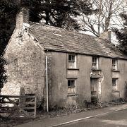 Broken down old cottage