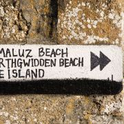 Beach sign - St Ives