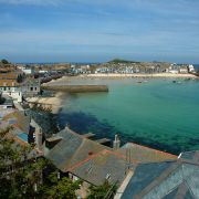 St Ives - view to the harbour