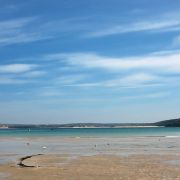 St Ives Harbour Beach - Low Tide