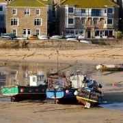 Low Tide - St Ives Harbour