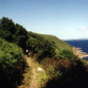 Coast path between Lamorna and Mousehole