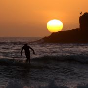 Sunset Soul Surfing