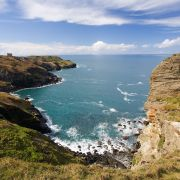 Tintagel from the coast path