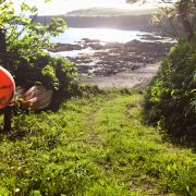 Track down to Men-aver Beach