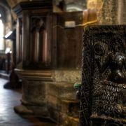 Mermaid of Zennor chair - Zennor Church