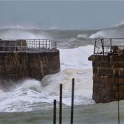 Cornwall North Coast Storm video