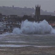 Penzance Storm Video - February 2014