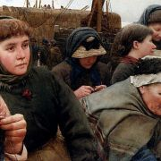 Waiting for the Boats - Walter Langley painting