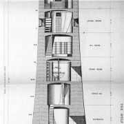 Wolf Rock lighthouse plan