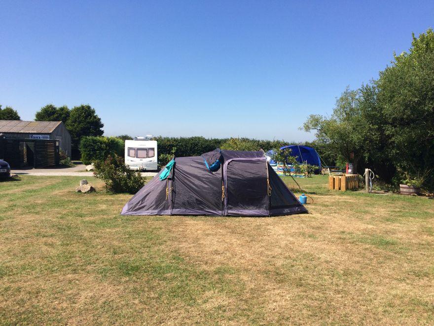 Camping at Mena Farm
