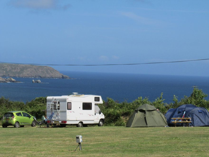 Touring Caravan Sites With Sea Views